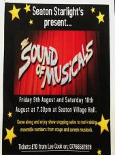 Seaton Starlights present The Sound of the Musicals
