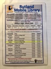 Rutland Mobile Library Hours for Seaton